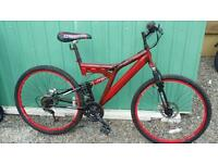 Bike in good condition with disc brakes for sale
