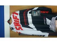 Motocross gear large man brand new top bottems armor knee pads gloves