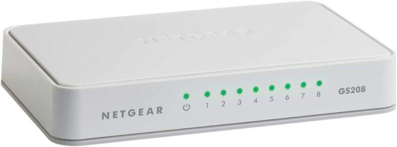 NETGEAR 8-Port Gigabit Ethernet Unmanaged Switch, Desktop, I