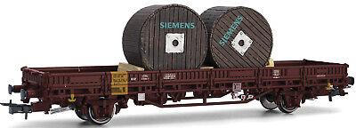 Usado, Rivarossi H0 HR6412 Vagón Plataforma de DB con Siemens-Kabeltrommeln comprar usado  Enviando para Brazil