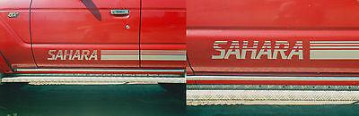 Toyota Landcruiser Sahara Decals / Vintage Series