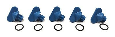 Exhaust Manifold Drain Plug 5pc Replaces Mercruiser 806608A02 8M0119211 (Mercruiser Drain)