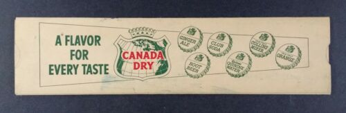 vintage Canada Dry Ginger Ale Soda Retail Store Price Profit Calculator