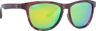 New Polarized Calcutta Sunglasses Cayman Tortoise Frame Green Mirror CY1GMTORT (Cayman Sunglasses)