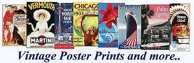 Vintage Poster Prints and more
