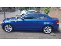 BMW 1 series 120d SE 2008, Metallic Blue