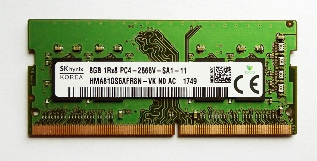 New - SK Hynix 8GB DDR4 2666 Mhz SO-DIMM Laptop RAM PC4-21300 Non ECC | in  Hadleigh, Suffolk | Gumtree
