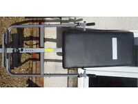 Foldable Pro Fitness Inversion Table. Excellent condition