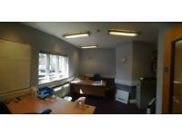 Self contained office to rent in central Wimborne