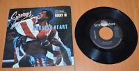 SURVIVOR: Rocky-IV: Burning Heart & Feels Like Love: 45 Record