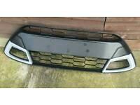Fiesta zetec S upper front grill