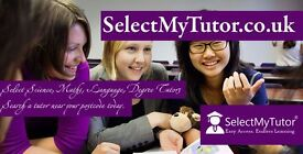 Looking for a Tutor? 10000+ Tutor for GCSE & A-Level English / Maths / Physics / Biology / Chemistry