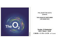 2 x League of Gentlemen Live at the O2 tickets for Sunday 23rd September