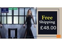 Black Knitted Maxi Long Sleeve Dresses