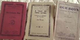 3 Vintage Acting Script Books