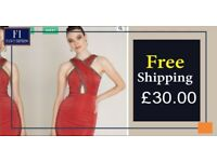 Red Knitted Mini Sleeveless Dres