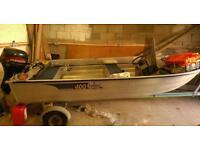 Linder sportsman 400 boat.