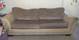 4 seater sofa from DFS