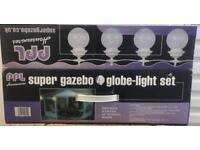 Gazebo Globe Light Set