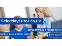 Looking for a Tutor? 10,000+ Tutor for GCSE & A-Level- English/Maths/Physics/Biology/Chemistry