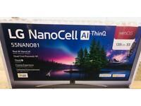 "55"" nano cell 81 smart tv 4k £450"