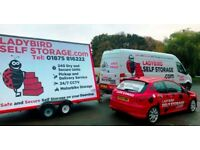 Self Storage Units in East Lothian - The Ladybird Price Promise