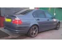 BMW 3 SERIES 316I SE 1.9 4 door 2001 – Cat C
