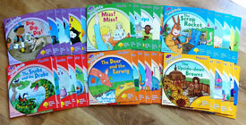 Phonics reading books complete set of 36 - Early years, School