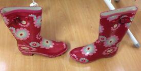 Wellington boots, pink