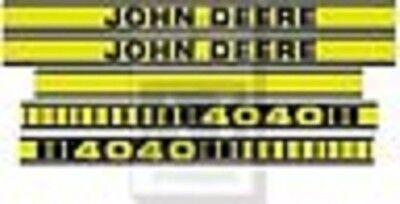 John Deere 4040 Tractor Decal Set