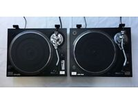 SHERWOOD PM 9800 DJ Turntables - Set of 2 - Excellent Condition - £180 Cash - Tunbridge Wells area