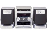 PHILIPS FW-C220 Mini Audio System with audio input for iPod or home cinema