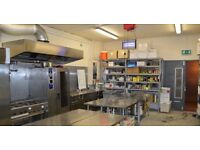 Large Commercial Production Kitchen - Full Time / Part Time - 24/7 Hours - Available Immediately