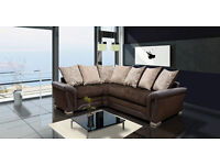 THE LUXURY SHANNON SOFA COLLECTION *** 3+2 SEATER SET OR CORNER SOFA NOW ONLY £490!!!