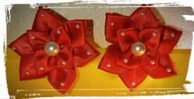 Handmade hair clips for girls