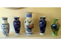 Selection of Vases and Ornaments