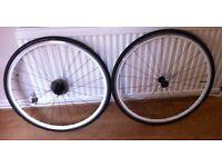Elite 24 Road Bike Wheel Set + 3 Continental Grand Prix 4 Seasons tyres
