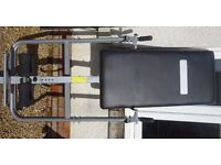 Foldable Pro Fitness Inversion Table. Great condition