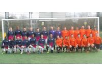 Adult male football team looking for players, find football team, join london football club, soccer