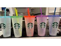 Starbucks confetti cups from New York