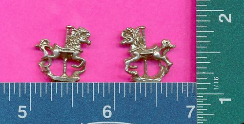 100 wholesale pewter carousel horse figurines m11092