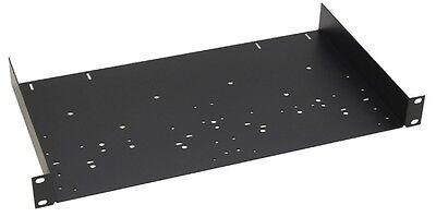 "1 HE 19"" Rack-Ablage 25cm tief Rack-Shelf Rack-Boden Trägereinschub Rack-Wanne"