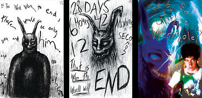 Donnie Darko Frank The Rabbit Lot of 3 prints 11x 17 Quality Posters - Frank Donnie Darko