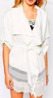 asos white lace kimono Thornlie Gosnells Area Preview