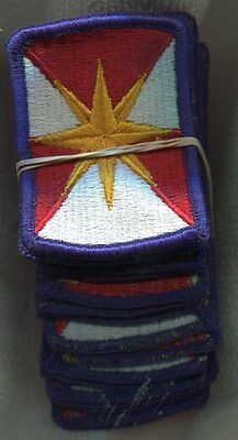 Dealer lot of 20 US Army 347th Support Group Color Patches
