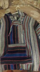 Multicoloured Baja (Poncho)
