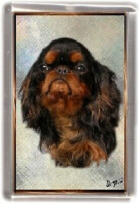 King Charles Spaniel Fridge Magnet No 3 by Starprint
