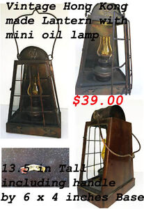 Assorted Oil Lamps and Candle Holders  ---H8Z1W9--- West Island Greater Montréal image 2