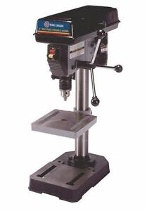 king canada tools kc 108n 8 drill press perceuse colonne 8 1 2 drill chuck ebay. Black Bedroom Furniture Sets. Home Design Ideas