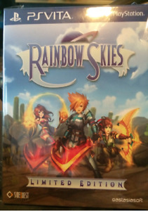 Raindow Skies PS Vita Limited Edition - rare